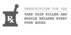Image of Prescription Rx lable